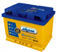 Аккумулятор АКОМ EFB 65 А EN 600A L+