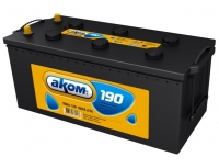 Аккумулятор АКОМ STANDART 190 А EN 1200A