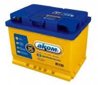 Аккумулятор АКОМ EFB 55 А EN 480A L+