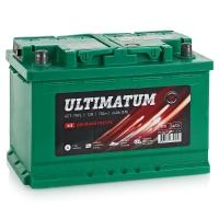 Аккумулятор АКОМ Ultimatum 70 А EN 640A R+