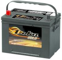 Аккумулятор Deka 586 MF 65 А EN 540A L+ D23