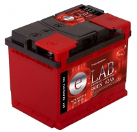 Аккумулятор  E-LAB 62 А EN 580A R+