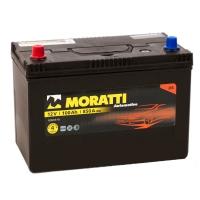 Аккумулятор Moratti  Asia 100 А EN 850A L+ D31