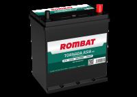 Аккумулятор Rombat Tornada Asia 40 А EN 300A R+ B19