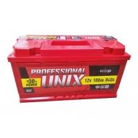 Аккумулятор UNIX PROFESSIONAL 100 А EN 840A L+