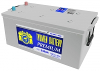 Аккумулятор  Tyumen Battery Premium 230 А EN 1480A ЕВРО