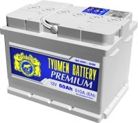 Аккумулятор  Tyumen Battery Premium 60 А EN 510A R+ LB2