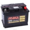 Аккумулятор Moll standard  62 А EN 600A L+
