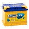 Аккумулятор АКОМ STANDART 55 А EN 460A L+