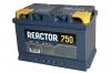 Аккумулятор АКОМ REACTOR 75 А EN 750A L+