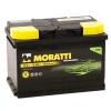 Аккумулятор Moratti 75 А EN 750A L+