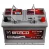 Аккумулятор Mutlu Silver 75 A EN 720 A L+